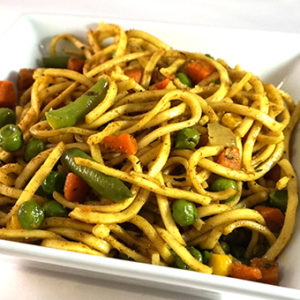 mix vegetable egg noodles